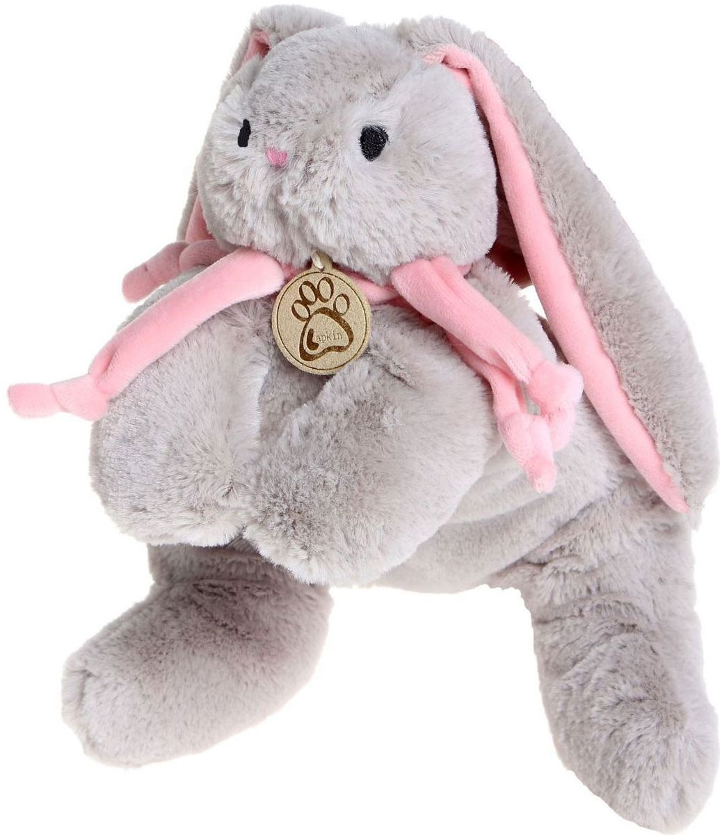 Sima-land Мягкая игрушка Кролик цвет серый 30 см sima land мягкая игрушка пингвинчик 30 см