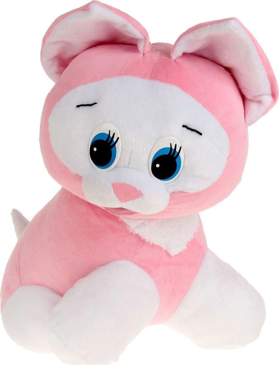 Sima-land Мягкая игрушка Котенок цвет розовый 50 см фонтант sima land летняя прохлада колодец