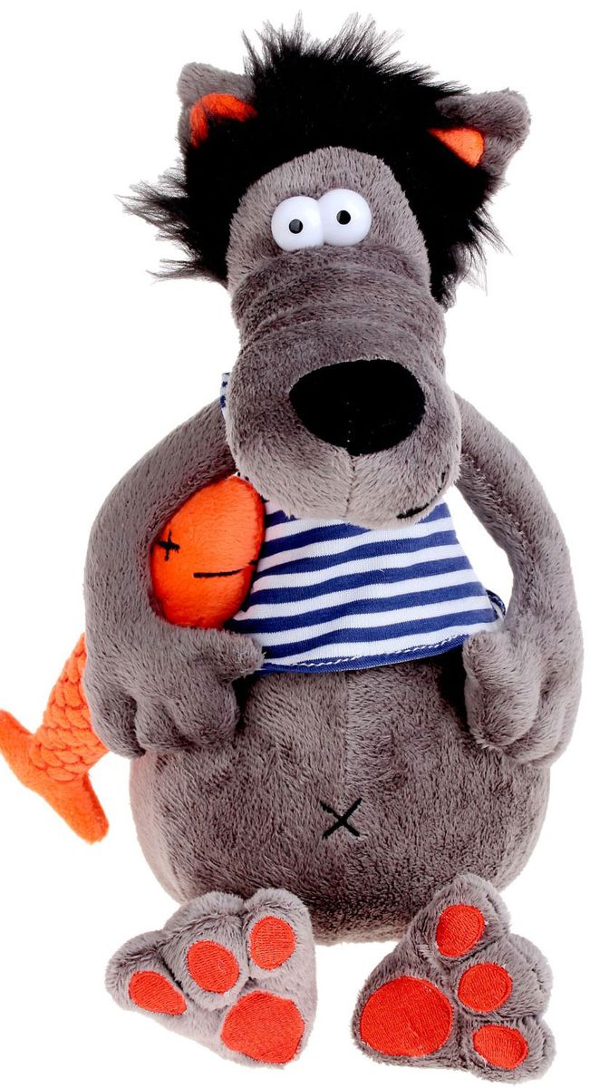 MaxiToys Мягкая игрушка Волчок & Vobla 26 см maxitoys мягкая игрушка волчок
