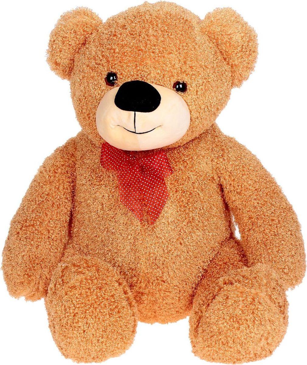 Sima-land Мягкая игрушка Медведь кудрявый цвет светло-коричневый 80 см sima land мягкая игрушка собака пятнашка 80 см