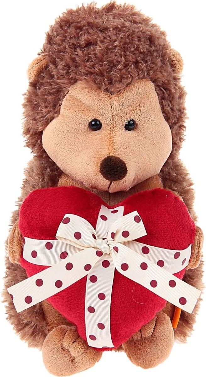 Orange Toys Мягкая игрушка Ежик Колюнчик с сердечком 26 см