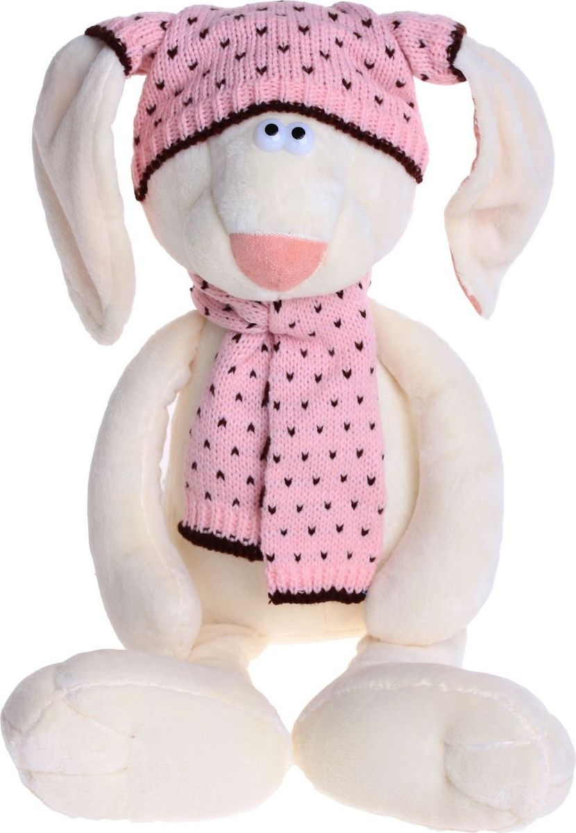 Orange Toys Мягкая игрушка Зайка Маша в шапке 30 см toys block