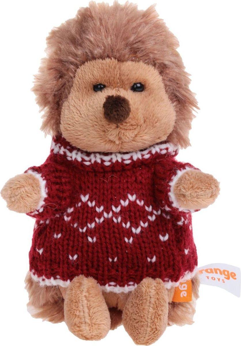Orange Toys Мягкая игрушка Ежик Колюнчик в свитере 15 см