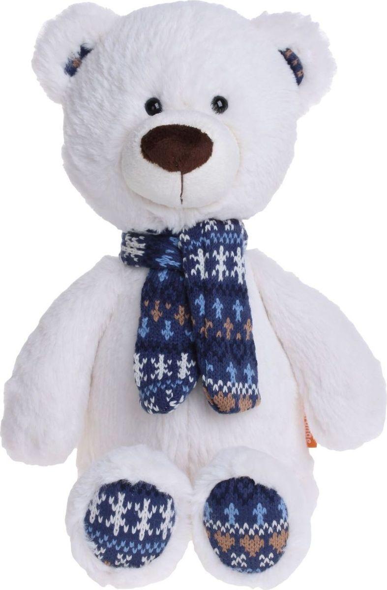 Sima-land Мягкая игрушка Медведь Снежок 30 см  sima land мягкая игрушка пингвинчик 30 см