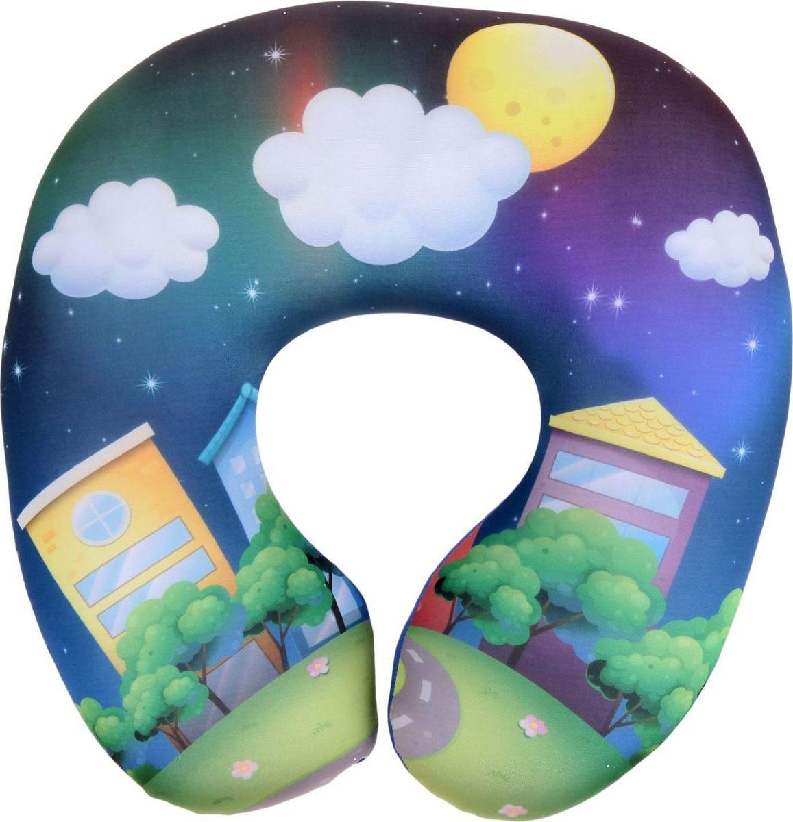 Sima-land Подушка-игрушка под шею Детская 5 подставка под горячее sima land звездочка нашей кухни диаметр 11 5 см