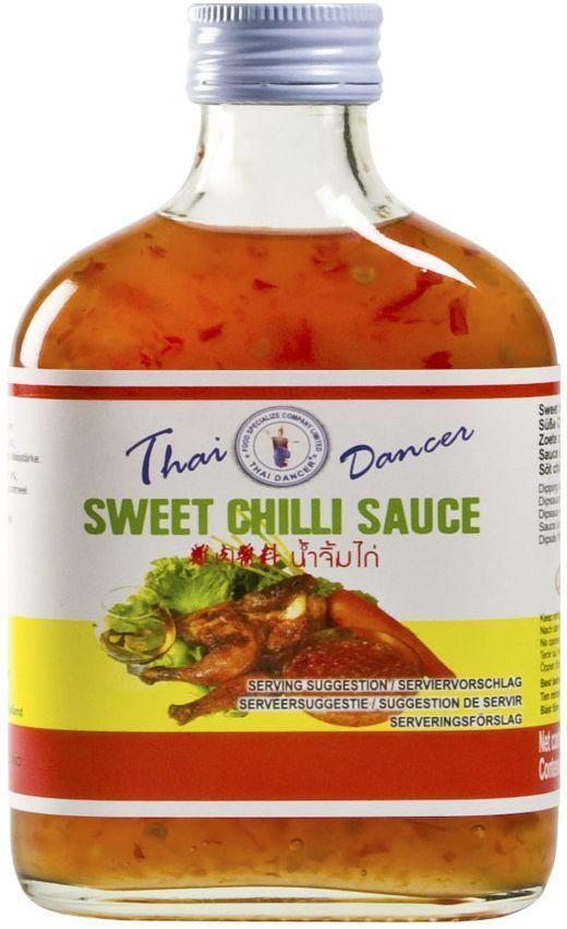 Thai Dancer Тайский кисло-сладкий соус чили, 200 мл0120710Тайский кисло-сладкий соус чили используется для блюд китайской, корейской, тайской, вьетнамской, индонезийской кухни и является одним из базовых атрибутов дальневосточной кухни. Идеально подходит для обмакивания жареной курицы и мясных блюд. Может добавляться к блюдам, приготавливаемым на воке, для заправки салатов и в качестве маринада.Уважаемые клиенты! Обращаем ваше внимание на возможные изменения в дизайне упаковки. Качественные характеристики товара остаются неизменными. Поставка осуществляется в зависимости от наличия на складе.