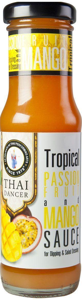 Thai Dancer Десертный соус из манго и маракуйи, 150 мл24Если вам нравятся сладко-пряные вкусы, этот соус несомненно, придется вам по вкусу. Яркий, необычный, приготовленный на диком меду с добавлением чесночка, этот соус идеально подходит для мяса, курицы, для пельменей, любых блюд, приготовленных на гриле. вы можете использовать его в качестве маринада, замариновав в медовом соусе курицу или мясо, а затем запечь в нем же в рукаве или на открытом огне. Густая, тягучая консистенция соуса полностью обволакивает продукт. А при запекании придает ему хрустящую сладко-пряную медовую корочку.