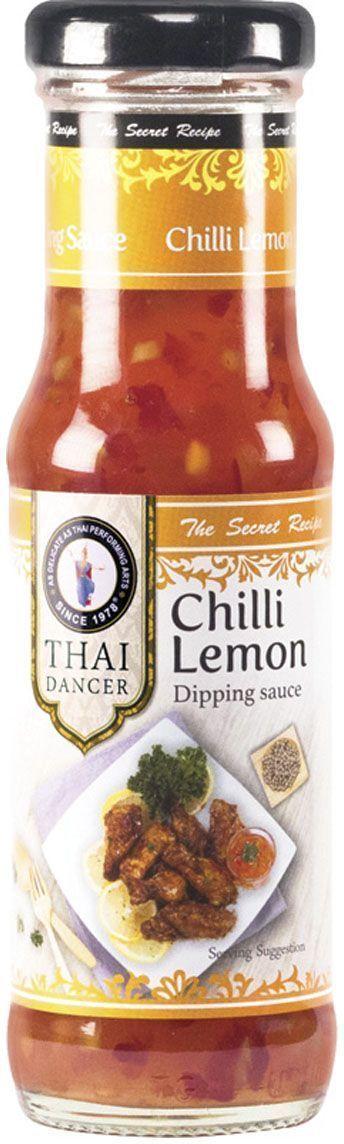 Thai Dancer Соус с лимоном и перцем, 150 млFS0002055Экзотический соус, в котором присутствуют акценты соевого соуса, грибов, аромат листиков мяты и чеснока, а также умеренная острота, придаваемая соусу совсем небольшим количеством перчика чили. Соус идеально подходит для любых мясных блюд, начиная от котлет и закачивая стейками. Замечательно сочетается с пельменями, мясным фаршем. Также может быть использован для бутербродов и заправки мясных салатов как отдельно, так и в сочетании с майонезом в пропорции 1х1 (1 ложка экзотического соуса для мяса Черный чили + 1 ложка майонеза).