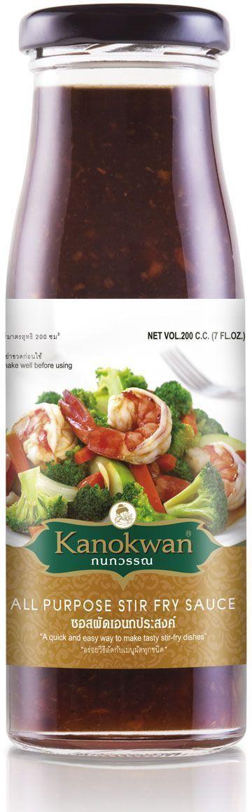 Kanokwan Устричный соус без глутамата с чесноком и имбирем, 200 млKW0002002Устричный соус используется при приготовлении блюд из рыбы, мяса, птицы, овощей, заправки салатов с морепродуктами, заправки гарнира. Это традиционный соус, без которого не обходится практически ни одно блюдо тайской, японской, китайской, вьетнамской и корейской кухни. Данный вариант является улучшенной версией устричного соуса: помимо традиционных ингредиентов (вода, соль, устричный экстракт, карамель) он также содержит кусочки чеснока, перца и имбиря. Обладает более глубоким и сбалансированным вкусом, нежели традиционный устричный соус. Идеально подходит для приготовления овощей по-китайски, японской лапши с овощами, жареного риса, дим самов и китайских супов.Преимущество устричного соуса от Kanokwan в том, что он не содержит глутамата натрия! При этом в его рецептуре точно соблюдены пропорции чеснока и имбиря, необходимые для приготовления практически всех блюд китайской и тайской кухни. Используя этот соус, вы можете уже не добавлять чеснок и имбирь для обжарки мяса, овощей, птицы или морепродуктов!
