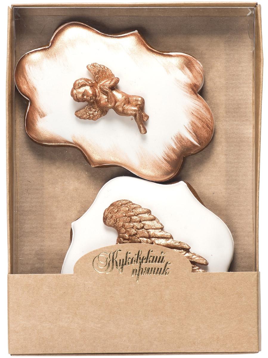 Жуковский пряник Подарочный набор Gold Love 2, 95 г0120710Медово-имбирные пряники с росписью из айсинга и декором из мастики. Чудесный набор пряного, медово-имбирного печенья, с романтичным, красивейшим декором , созданный специально для вас и ваших любимых ко Дню Святого Валентина! Набор таких пряничков непременно порадует ваших близких и станет отличным подарком к самому романтичному празднику!Уважаемые клиенты! Обращаем ваше внимание, что полный перечень состава продукта представлен на дополнительном изображении.