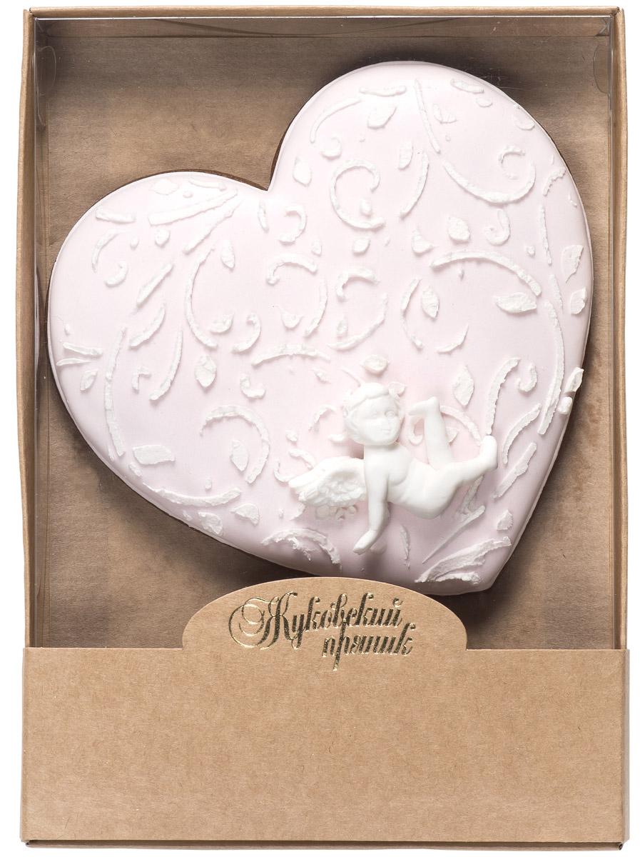 Жуковский пряник Подарочный набор Моя любовь, 100 г0120710Медово-имбирный пряник с росписью из айсинга и декором из мастики. Чудесный набор пряного, медово-имбирного печенья, с романтичным, красивейшим декором , созданный специально для вас и ваших любимых ко Дню Святого Валентина! Такой пряник непременно порадует ваших близких и станет отличным подарком к самому романтичному празднику! Уважаемые клиенты! Обращаем ваше внимание, что полный перечень состава продукта представлен на дополнительном изображении.