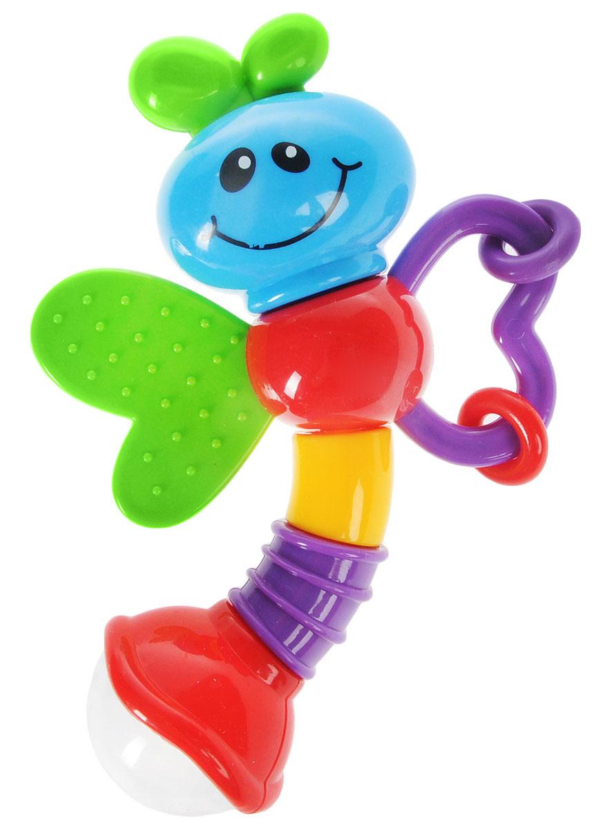 Умка Лунтик Погремушка Пчелка цвет зеленый голубой красный