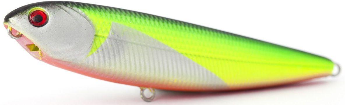 Воблер плавающий Atemi Sugar Pencil, цвет: silver chart, длина 10 см, вес 10 г513-00012Плавающий воблер Atemi Sugar Pencil является наилучшей приманкой как для троллинга, так и для ловли в заброс. Он также хорошо работает при ловле рыбы против течения. Рекомендуется для ловли - щуки, окуня, форели, басса, язя, голавля, желтоперого судака, жереха.Проводите по более глубоким местам, в местах сбора кормовой базы хищних рыб.Во время максимальной активности рыб, лучше брать ярко окрашенную приманку, которая будет выделяться в толще воды и сразу бросится хищнику в глаза.Если у хищника плохой аппетит, то расцветка должна быть максимально близкой к расцветке кормовой рыбы.
