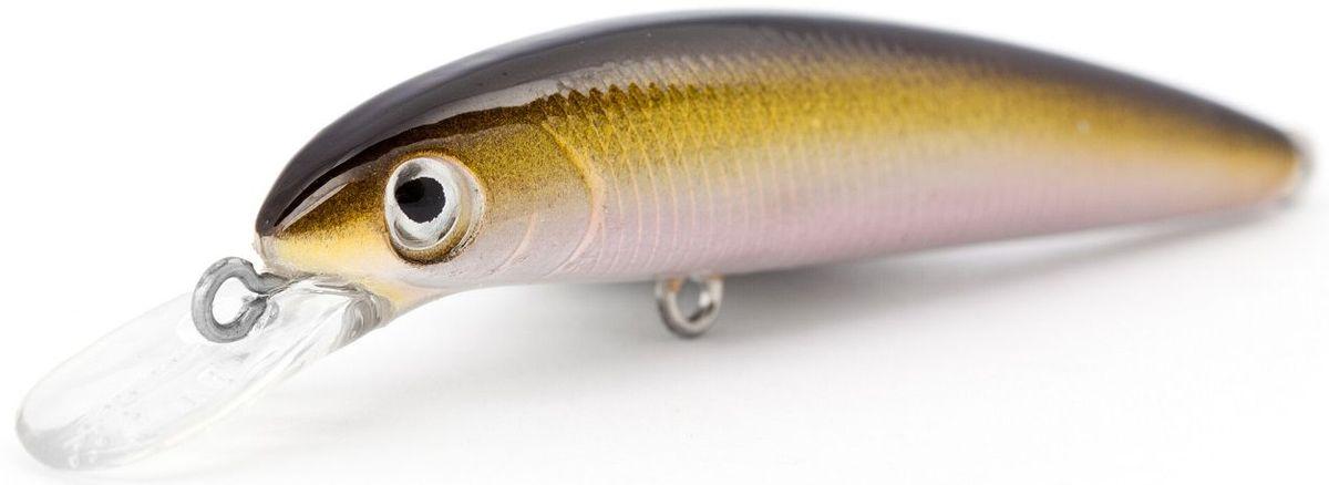 Воблер плавающий Atemi Secret Weapon, цвет: brown shad, длина 7,5 см, вес 7,8 г, заглубление 1,5 м513-00043Плавающий воблер Atemi Secret Weapon - это отличная приманка для ловли хищных рыб следующих пород: щука, форель, окунь, басс, язь,желтый судак, жерех. Воблер относится к классу  плавающая приманка и имитирует поведение раненой рыбки на воде. Его движение привлекают крупных хищных рыб.Заглубление: 1,5 м.