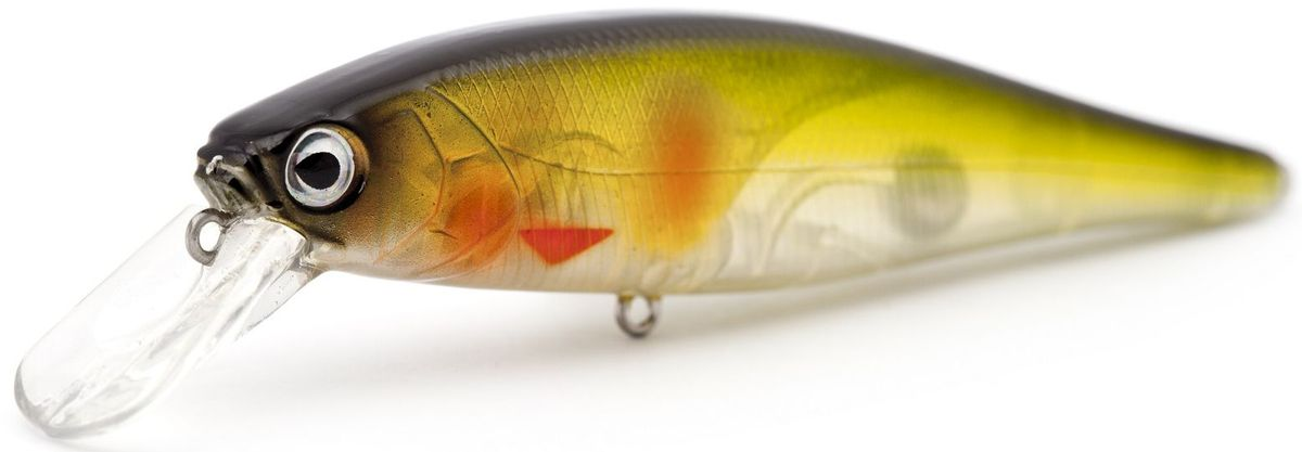 Воблер плавающий Atemi Quesy, цвет: ghost ayu, длина 10 см, вес 14,6 г, заглубление 1,2 м воблер atemi quesy 100mm 16 5g red smolt 513 00047