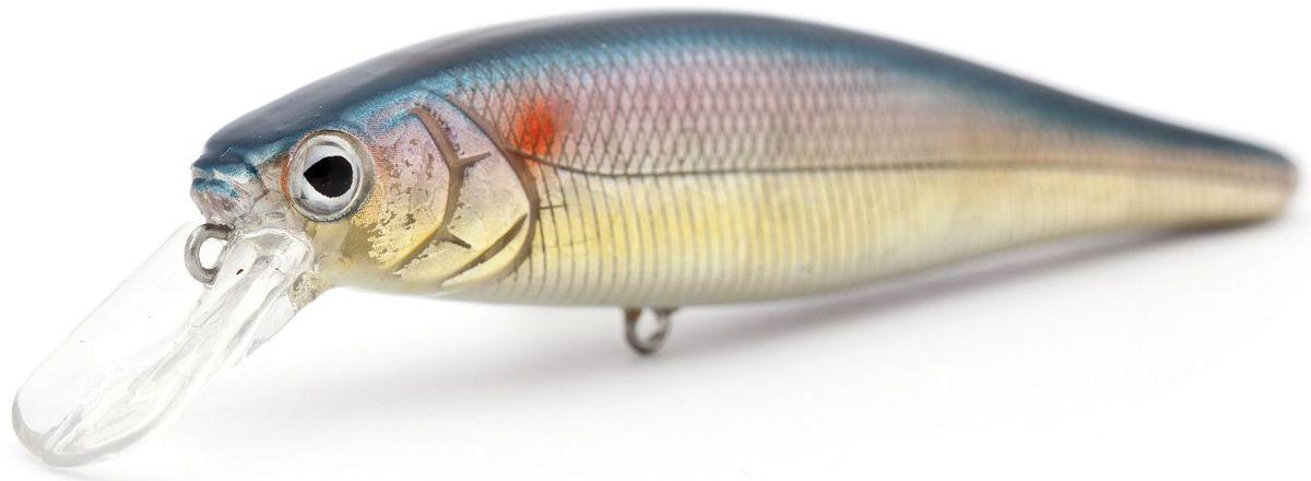 Воблер суспендер Atemi Quesy, цвет: metalic shad, длина 10 см, вес 16 г, заглубление 1,5 м воблер atemi quesy 100mm 16 5g red smolt 513 00047