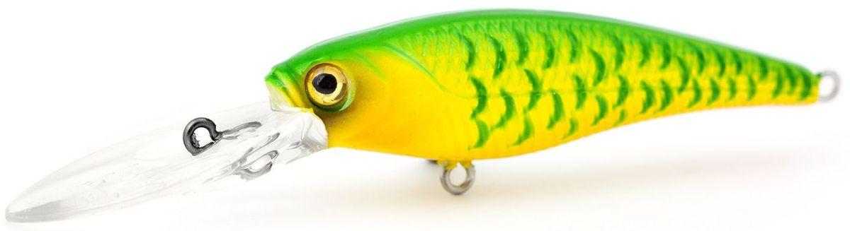 Воблер плавающий Atemi Kingfisher, цвет: chart, длина 6 см, вес 6,5 г, заглубление 2 м513-00102Atemi Kingfisher - это отличная приманка для ловли хищных рыб слелующих пород: щука, форель, окунь, басс, язь,желтый судак, жерех. Воблер относится к классу плавающая приманка и имитирует поведение раненой рыбки на воде. Его движение привлекают крупных хищных рыб. Заглубление: 2 м.