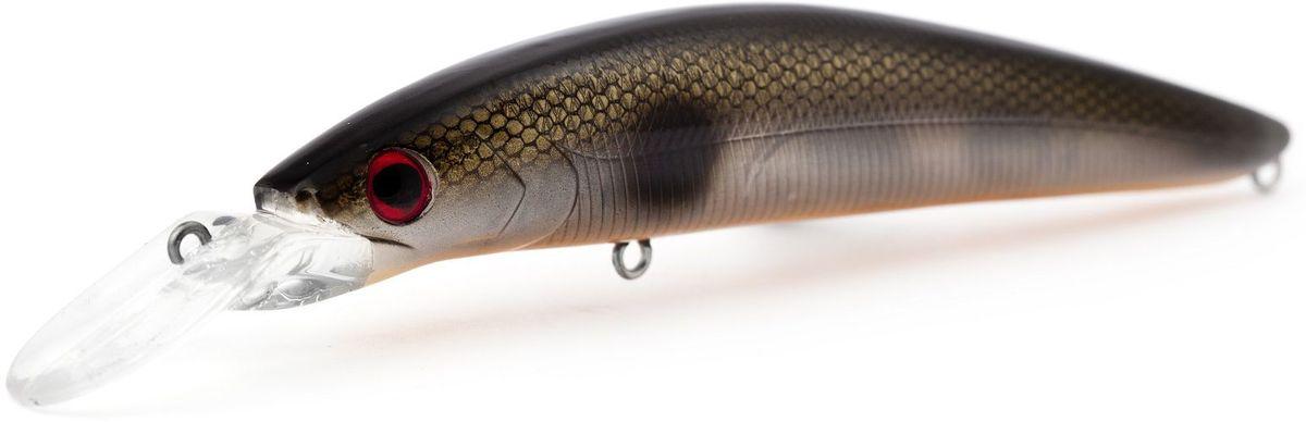 Воблер плавающий Atemi Dinamic, цвет: clear black, длина 12,5 см, вес 24 г, заглубление 1,7 м010-01199-23ПриманкаAtemi Dinamic превосходна для ловли рыбы, если ее забрасывать вверх по течению, только обеспечивайте скорость проводки немного быстрее, чем скорость течения. Она также хорошо работает при ловле рыбы против течения, проводите приманку по более глубоким местам, там, где чаще стоят в засаде более крупные экземпляры. Для озер и водохранилищ, Atemi Dinamic является наилучшей приманкой как для троллинга, так и для ловли в заброс.Заглубление: 1,7 м.