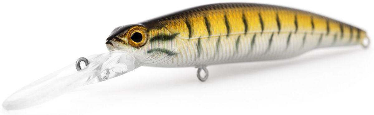 Воблер плавающий Atemi Deep Run, цвет: snakehead, длина 9 см, вес 10,6 г, заглубление 2 м513-00117Воблер Atemi Deep Run плавающий рекомендуется для ловлищуки, окуня, форели, басса, язя, голавля, желтоперого судака, жереха. Эта приманка превосходна для ловли рыбы, если ее забрасывать вверх по течению. Только обеспечивайте скорость проводки немного быстрее, чем скорость течения. Заглубление: 2 м.