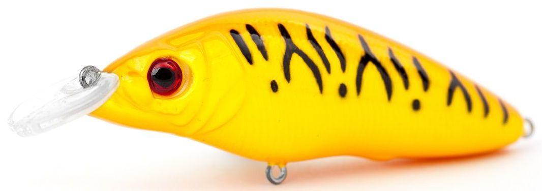 Воблер плавающий Atemi Black Widow One, цвет: orange tiger, длина 6,5 см, вес 8,5 г, заглубление 1 м513-00124Приманка Atemi Black Widow One - яркая и качественная приманка, которая рекомендуется для ловли щуки, форели, басса, голавля, жереха, желтоперого судака, окуня. Эта легкая приманка может использоваться для ловли рыбы вверх по течению, если обеспечить более высокую, нежели скорость течения, скорость проводки. Воблер также может использоваться и при ловле против течения.Заглублиние: 1 м.