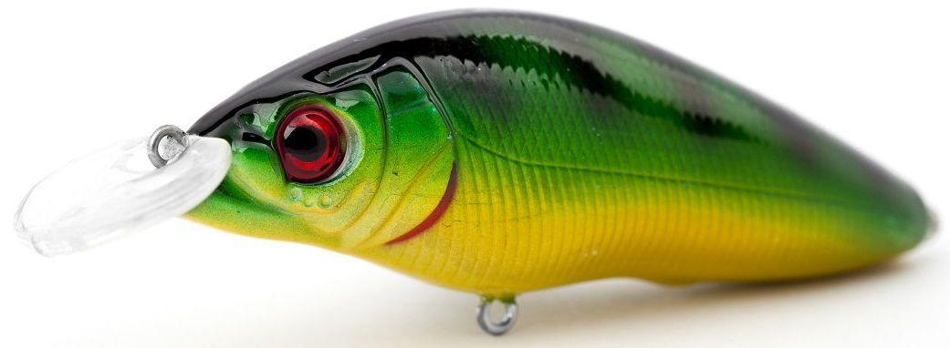 Воблер плавающий Atemi Black Widow One, цвет: perch, длина 6,5 см, вес 8,5 г, заглубление 1 м4271825Приманка Atemi Black Widow One - яркая и качественная приманка, которая рекомендуется для ловли щуки, форели, басса, голавля, жереха, желтоперого судака, окуня. Эта легкая приманка может использоваться для ловли рыбы вверх по течению, если обеспечить более высокую, нежели скорость течения, скорость проводки. Воблер также может использоваться и при ловле против течения.Заглублиние: 1 м.