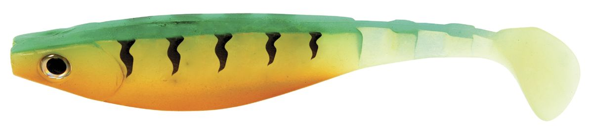 Риппер Atemi, цвет: greatperch, длина 8 см, 8 шт010-01199-23Риппер Atemi - это виброхвост с объемным, мясистым телом, выполненный из высококачественного силикона. Имеет стабильную сбалансированную игру. Предназначен для джиговой ловли хищной рыбы: окуня, судака, щуки. Приманка визуально стимулирует хищный инстинкт поедателей рыб и толкает их совершать атаки.