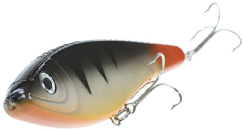 Джеркбейт Blind Derky Jerk, цвет: черный, оранжевый, длина 15 см, вес 70 гBKY-15003Джеркбейт Blind Derky Jerk - это приманка, для которой характерна проводка с чередованием рывков и остановок, в противном случае изделие из-за большого веса и размера пойдет ко дну. Подобная скачкообразная игра привлекает хищных рыб и выманивает их с глубины. Рекомендуется для ловли - щуки, окуня, форели, басса, язя, голавля, желтоперого судака, жереха.