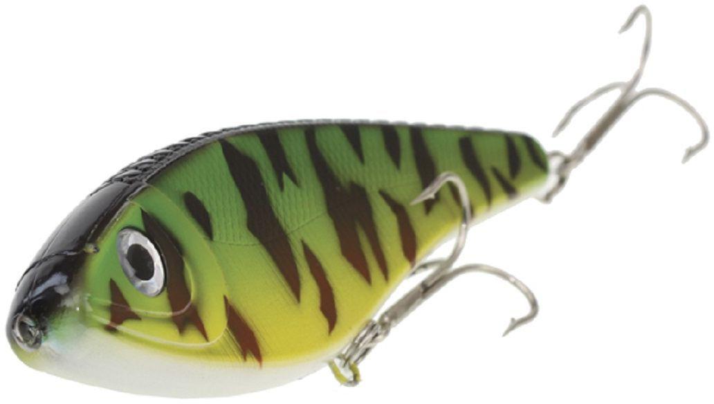 Джеркбейт Blind Derky Jerk, цвет: зеленый, черный, длина 15 см, вес 70 гBKY-15007Джеркбейт Blind Derky Jerk - это приманка, для которой характерна проводка с чередованием рывков и остановок, в противном случае изделие из-за большого веса и размера пойдет ко дну. Подобная скачкообразная игра привлекает хищных рыб и выманивает их с глубины. Рекомендуется для ловли - щуки, окуня, форели, басса, язя, голавля, желтоперого судака, жереха.