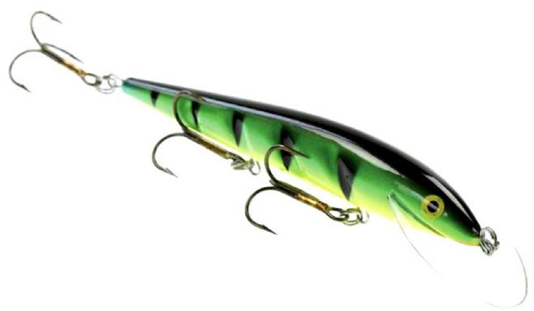 Воблер Blind Paroni, цвет: ahven, длина 13 см, вес 17 гPAR-13001Воблер Blind Paroni изготовлен из высококачественного пластика и отличается яркой расцветкой. Три тройника не дадут ускользнуть самой верткой рыбе. Blind Paroni применяется для ловли хищных видов рыб. Вываживание матерой щуки подарит вам новые позитивные ощущения азарта, борьбы и победы. Рабочая глубина: 3 м.
