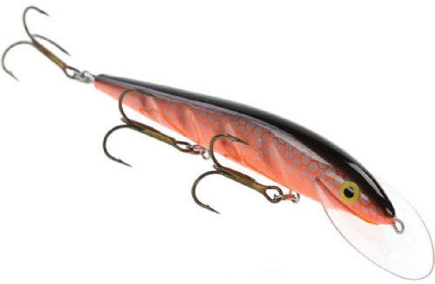 Воблер Blind Paroni, цвет: redhaze, длина 13 см, вес 17 гPAR-13006Воблер Blind Paroni изготовлен из высококачественного пластика и отличается яркой расцветкой. Три тройника не дадут ускользнуть самой верткой рыбе. Blind Paroni применяется для ловли хищных видов рыб. Вываживание матерой щуки подарит вам новые позитивные ощущения азарта, борьбы и победы. Рабочая глубина: 3 м.