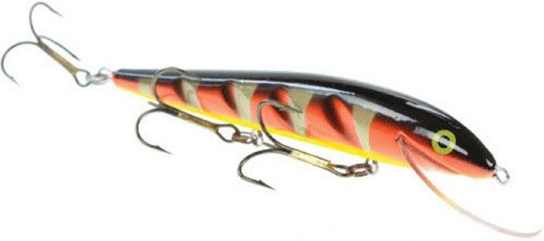 Воблер Blind Paroni, цвет: golder, длина 13 см, вес 17 г010-01199-23Воблер Blind Paroni изготовлен из высококачественного пластика и отличается яркой расцветкой. Три тройника не дадут ускользнуть самой верткой рыбе. Blind Paroni применяется для ловли хищных видов рыб. Вываживание матерой щуки подарит вам новые позитивные ощущения азарта, борьбы и победы. Рабочая глубина: 3 м.