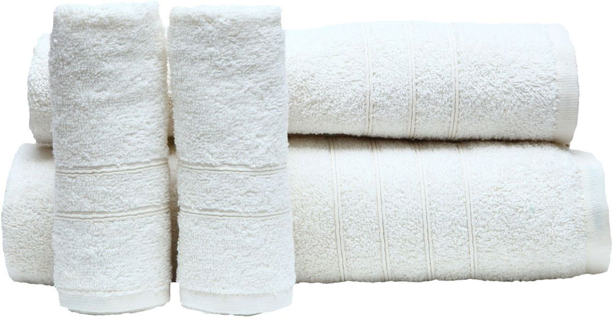 Набор полотенец Proffi Home, цвет: белый, 4 шт. PH839468/5/2При изготовлении махровых полотенец используется качественный 100 % хлопок. Махровые полотенца будут приятным добавлением в интерьере ванной комнаты. Мягкое махровое полотенце отлично впитывает влагу и быстро сохнет, детям приятно в него завернуться после принятия ванны или посещения сауны. Набор их 4 махровых полотенец разных размеров (70*140, 50*100, 30*50 - 2 шт) будет отличным подарком на любой праздник.