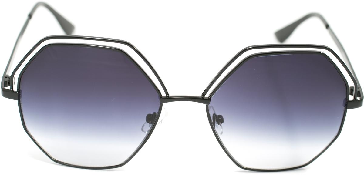 Очки солнцезащитные Mitya Veselkov, цвет: черный. OS-132INT-06501Прекрасные антибликовые очки Mitya Veselkov, станут прекрасным и стильным аксессуаром для вас и защитят от УФ лучей. Они помогут глазу более четко распознать картинку, засвеченную солнечными лучами, при этом скорректируют все возникшие искажения.