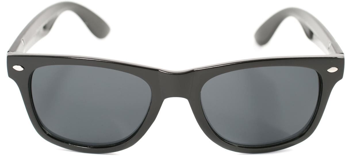 Очки солнцезащитные Mitya Veselkov, цвет: черный. OS-183INT-06501Прекрасные антибликовые очки Mitya Veselkov, станут прекрасным и стильным аксессуаром для вас и защитят от УФ лучей. Они помогут глазу более четко распознать картинку, засвеченную солнечными лучами, при этом скорректируют все возникшие искажения.
