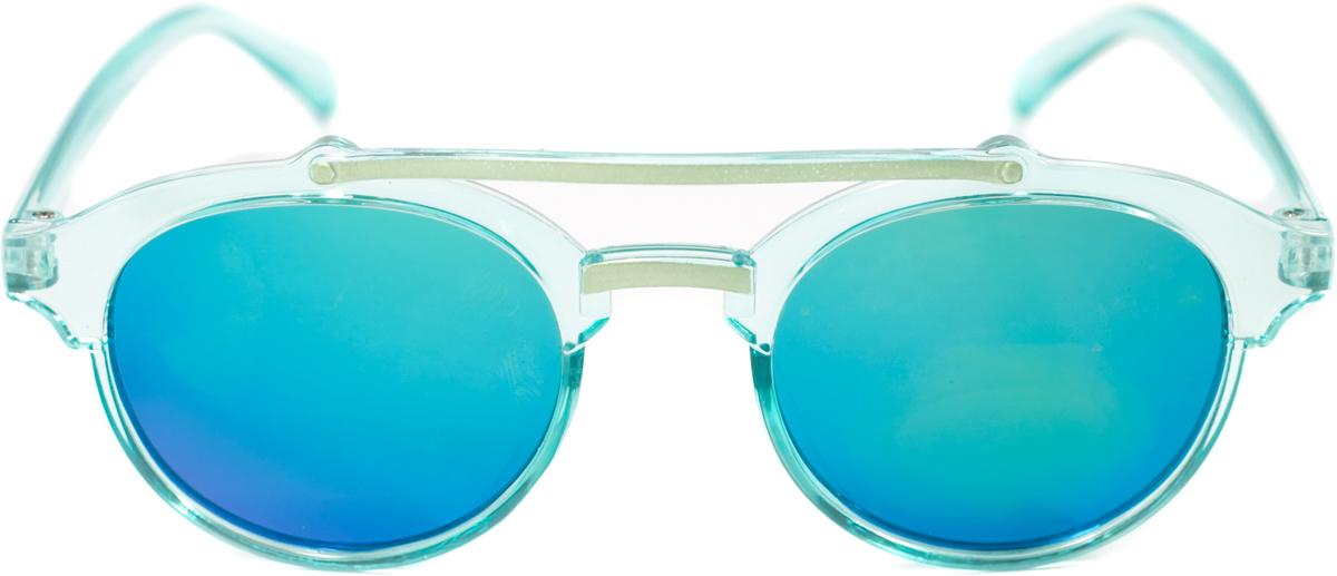 Очки солнцезащитные детские Mitya Veselkov, цвет: голубой. OS-209INT-06501Прекрасные антибликовые очки Mitya Veselkov, станут прекрасным и стильным аксессуаром для вашего ребенка и защитят его от УФ лучей. Они помогут глазу более четко распознать картинку, засвеченную солнечными лучами, при этом скорректируют все возникшие искажения.