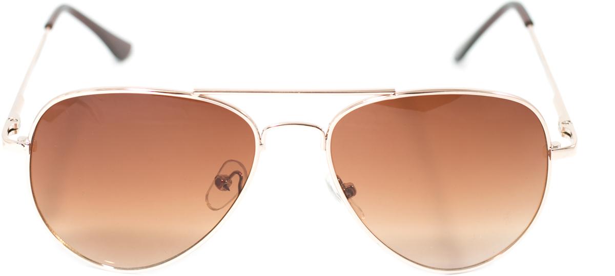 Очки солнцезащитные детские Mitya Veselkov, цвет: золотистый. OS-213BM8434-58AEПрекрасные антибликовые очки Mitya Veselkov, станут прекрасным и стильным аксессуаром для вашего ребенка и защитят его от УФ лучей. Они помогут глазу более четко распознать картинку, засвеченную солнечными лучами, при этом скорректируют все возникшие искажения.