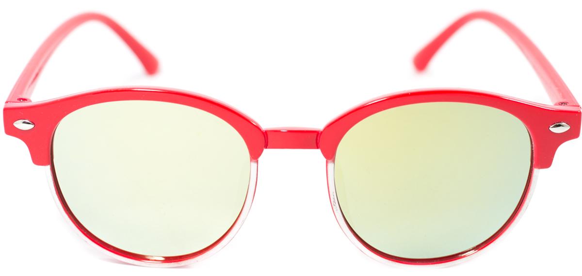 Очки солнцезащитные детские Mitya Veselkov, цвет: красный. OS-193INT-06501Прекрасные антибликовые очки Mitya Veselkov, станут прекрасным и стильным аксессуаром для вашего ребенка и защитят его от УФ лучей. Они помогут глазу более четко распознать картинку, засвеченную солнечными лучами, при этом скорректируют все возникшие искажения.