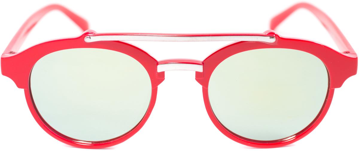 Очки солнцезащитные детские Mitya Veselkov, цвет: красный. OS-211BM8434-58AEПрекрасные антибликовые очки Mitya Veselkov, станут прекрасным и стильным аксессуаром для вашего ребенка и защитят его от УФ лучей. Они помогут глазу более четко распознать картинку, засвеченную солнечными лучами, при этом скорректируют все возникшие искажения.