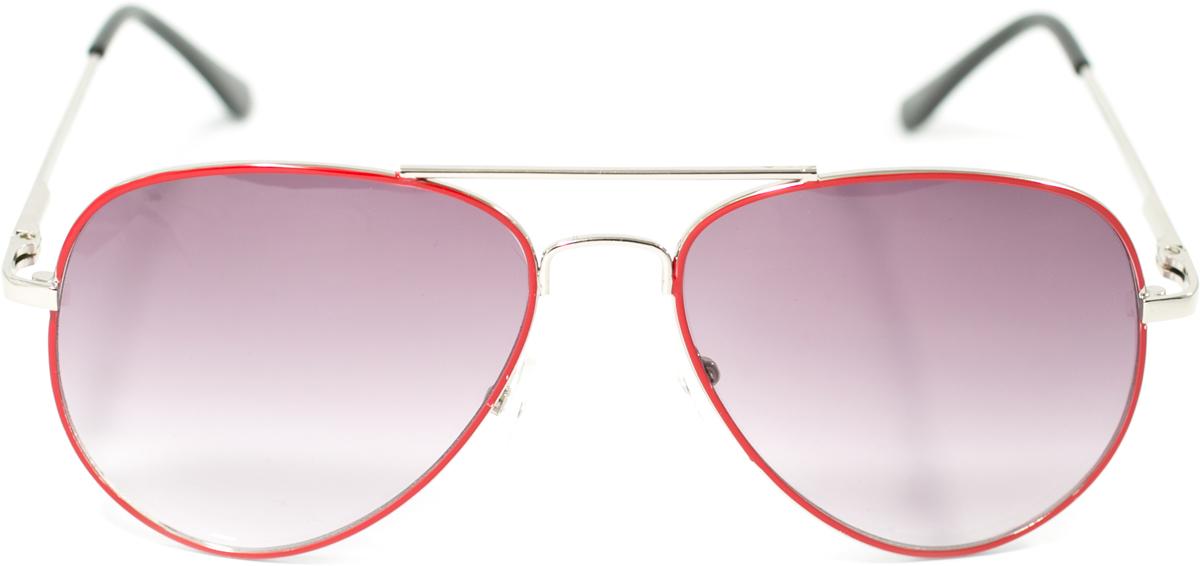 Очки солнцезащитные детские Mitya Veselkov, цвет: красный. OS-217INT-06501Прекрасные антибликовые очки Mitya Veselkov, станут прекрасным и стильным аксессуаром для вашего ребенка и защитят его от УФ лучей. Они помогут глазу более четко распознать картинку, засвеченную солнечными лучами, при этом скорректируют все возникшие искажения.