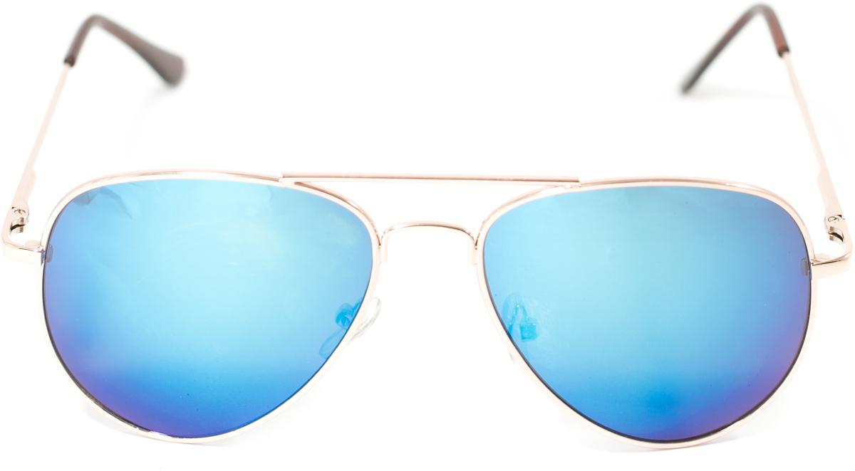 Очки солнцезащитные детские Mitya Veselkov, цвет: серебристый, синий. OS-214INT-06501Прекрасные антибликовые очки Mitya Veselkov, станут прекрасным и стильным аксессуаром для вашего ребенка и защитят его от УФ лучей. Они помогут глазу более четко распознать картинку, засвеченную солнечными лучами, при этом скорректируют все возникшие искажения.