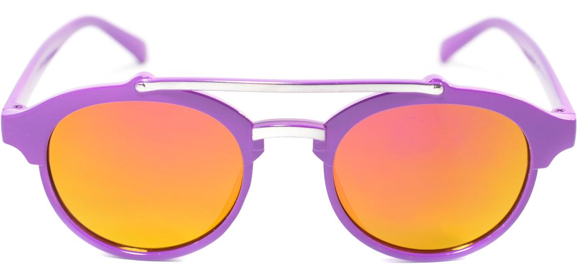 Очки солнцезащитные детские Mitya Veselkov, цвет: фиолетовый. OS-204BM8434-58AEПрекрасные антибликовые очки Mitya Veselkov, станут прекрасным и стильным аксессуаром для вашего ребенка и защитят его от УФ лучей. Они помогут глазу более четко распознать картинку, засвеченную солнечными лучами, при этом скорректируют все возникшие искажения.