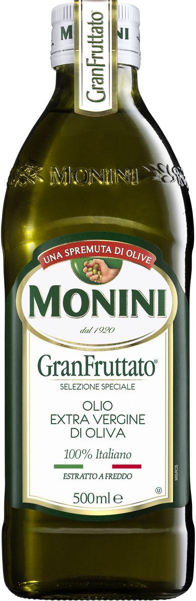 Monini масло оливковое Extra Virgin Фрутато, 500 мл1610008/1Оливковое масло нерафинированное экстра класса, полностью натуральный продукт.