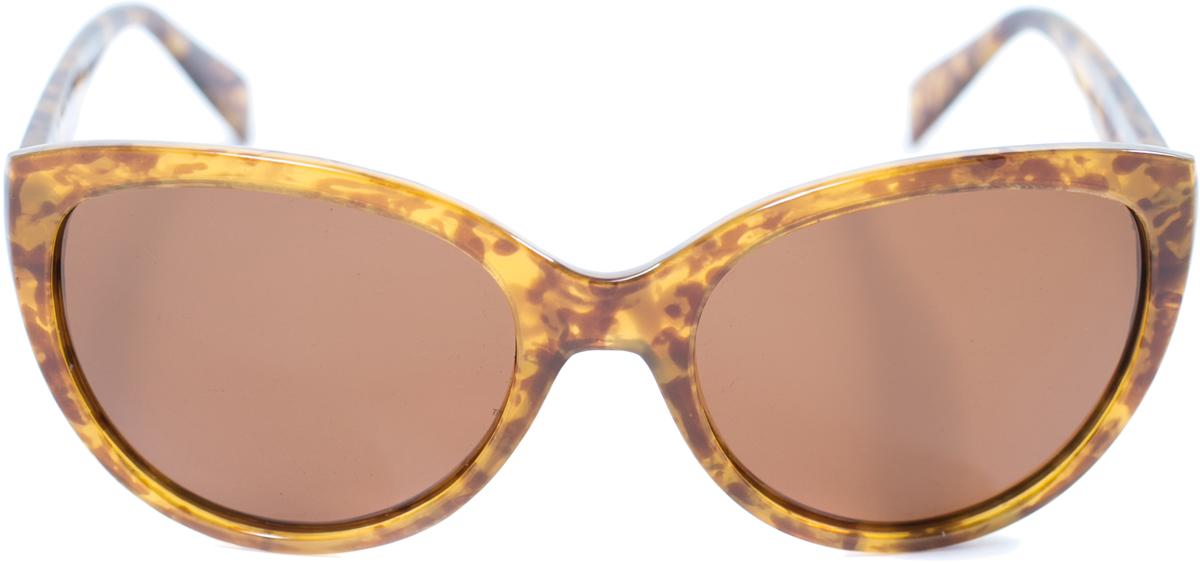 Очки солнцезащитные женские Mitya Veselkov, цвет: бежевый. OS-160BM8434-58AEПрекрасные антибликовые очки Mitya Veselkov, станут прекрасным и стильным аксессуаром для вас и защитят от УФ лучей. Они помогут глазу более четко распознать картинку, засвеченную солнечными лучами, при этом скорректируют все возникшие искажения.