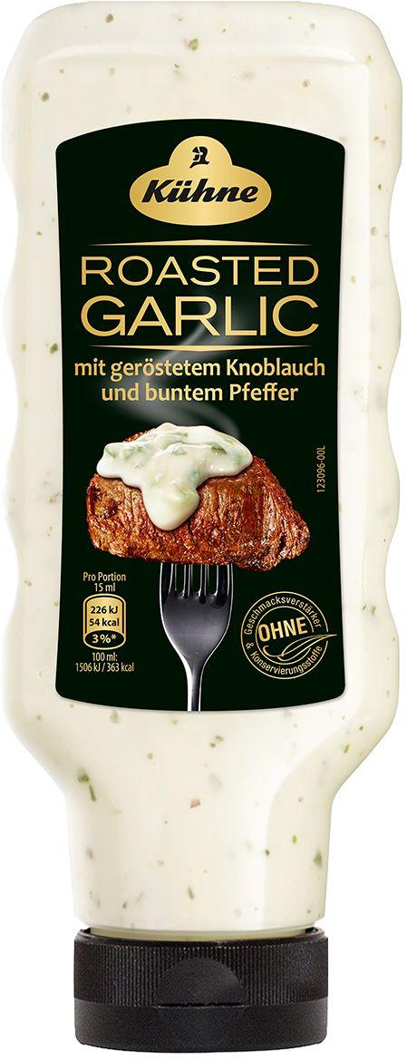 Kuhne соус чесночный, 250 мл0120710Чесночный соусKuhneусовершенствует вкус ваших блюд. Этот оригинальныйсоуспроизведенизвестной немецкой компанией, пользующейся авторитетом средигурманов по всему миру.