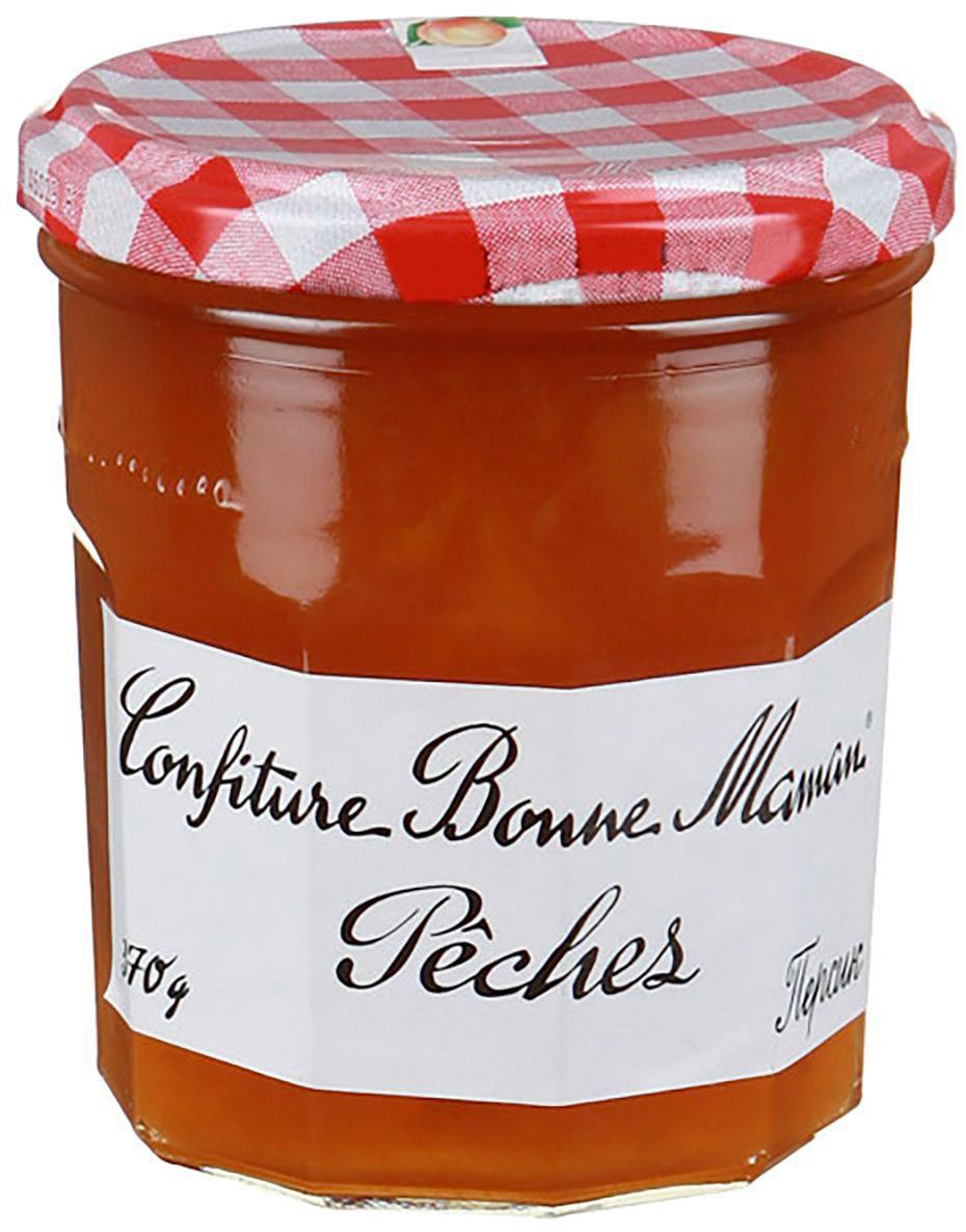 Bonne Maman Конфитюр Экстра из персика, 370 г1150007Классика французских конфитюров от Bonne Maman - конфитюр из персика! Не зря многие считают конфитюры от Bonne Maman №1 в мире, просто намажьте этот конфитюр на тост, попробуйте, это яркий вкус лета! Отличное лакомство для детей и взрослых.
