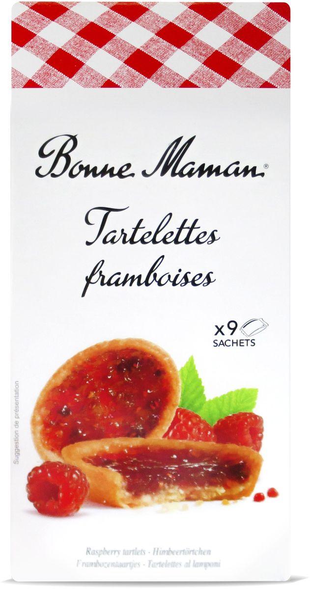 Bonne Maman Tartelettes Сдобное печенье с малиновой начинкой, 135 г0120710Бисквитноепеченьесмалиновойначинкой. Отличается насыщенным вкусоммалины.