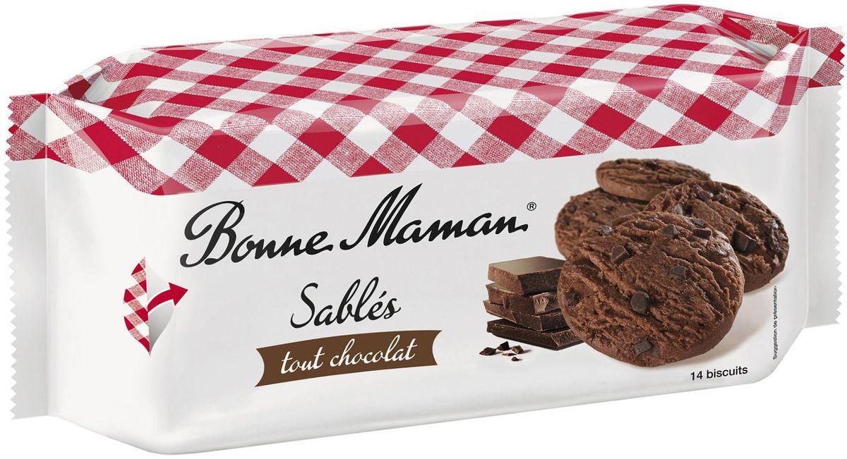 Bonne Maman Песочное шоколадное печенье, 150 г4640000272265Сдобное печенье по старинному рецепту с изысканным шоколадным ароматом и вкусом придется по вкусу каждому ценителю настоящей французской выпечки. Превосходное дополнение в качестве десерта к чаю или кофе.