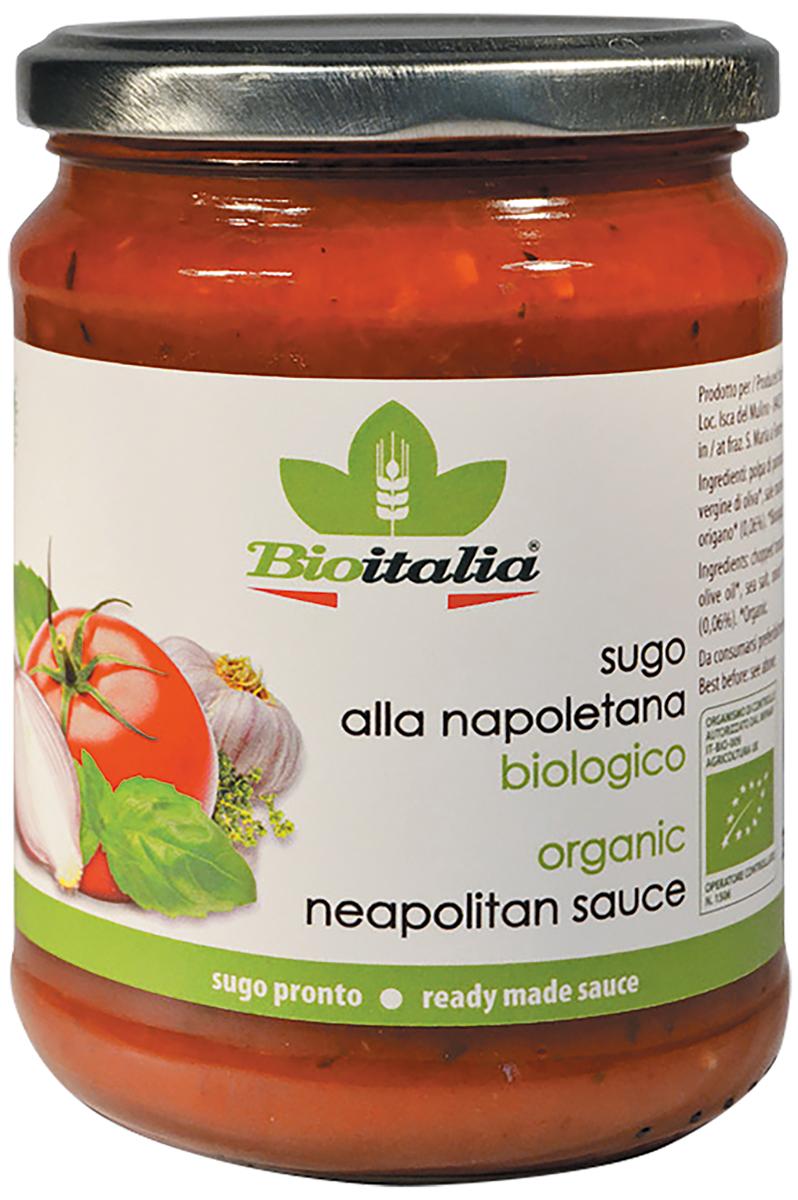 Bioitalia соус томатный, 350 г24Для приготовления этогосоусаиспользуется экологически чистое сырьевысшего качества, которое затем искусно перерабатывается.