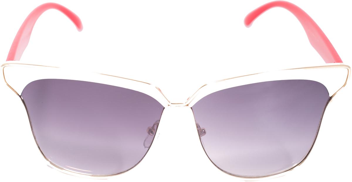 Очки солнцезащитные женские Mitya Veselkov, цвет: белый, красный. OS-224SARMA норка С030-1Прекрасные антибликовые очки Mitya Veselkov, станут прекрасным и стильным аксессуаром для вас и защитят от УФ лучей. Они помогут глазу более четко распознать картинку, засвеченную солнечными лучами, при этом скорректируют все возникшие искажения.