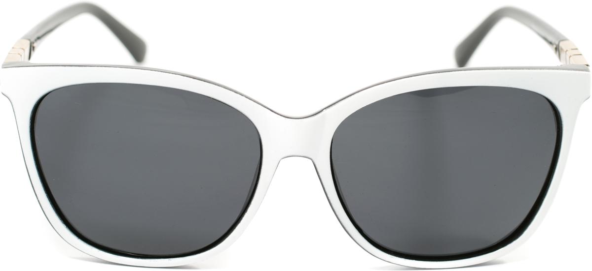 Очки солнцезащитные женские Mitya Veselkov, цвет: белый. OS-175BM8434-58AEПрекрасные антибликовые очки Mitya Veselkov, станут прекрасным и стильным аксессуаром для вас и защитят от УФ лучей. Они помогут глазу более четко распознать картинку, засвеченную солнечными лучами, при этом скорректируют все возникшие искажения.